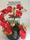 coupe fleur artificielle metier macon
