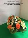 fleur-artificielle-plaque-inox-coccinelle