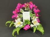 fleur-plante-artificielle-cadre-photo