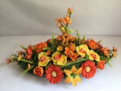 plateau-oval-fleur-orange