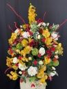amphore-orchidee-rose-lierre-deco