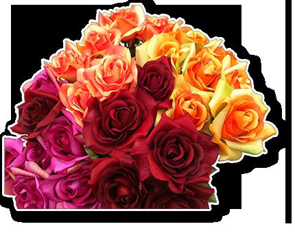 Fleurs à la tige, Piquet bouquet, Feuillage